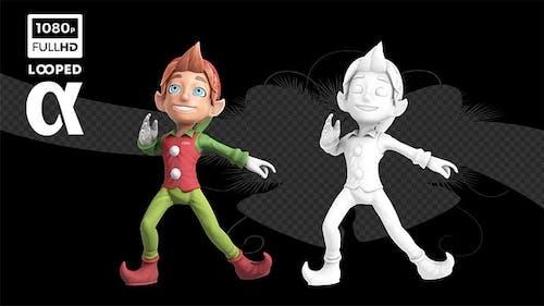 Happy Xmas Dancer Elf Ver.1