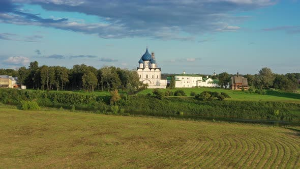 Thumbnail for Aerial View on Kremlin in Suzdal Russia