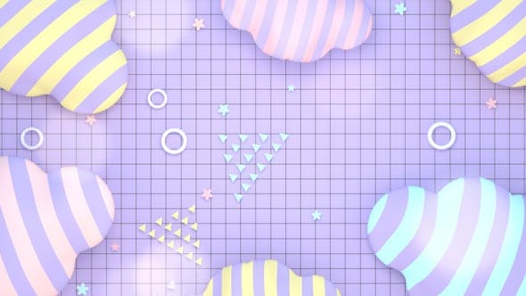 Thumbnail for Stylish Geometric Shapes and Grid