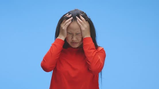Thumbnail for Young Woman Having Migraine