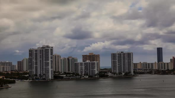 Thumbnail for Cloudy Miami Bay Afternoon 05