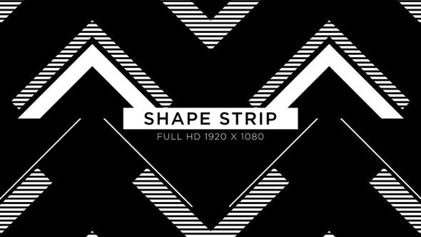 Thumbnail for Shape Strip VJ Loops Background