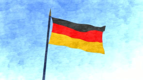 Germany Flag Stop Motion