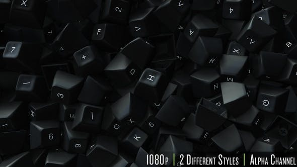 Cover Image for Computer Keyboard Keys Fill Screen