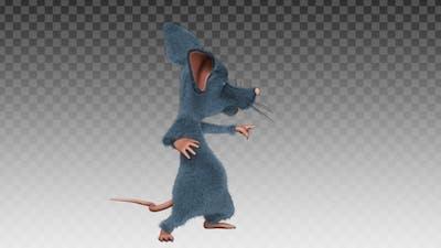 Cartoon Rat - Dance Joke