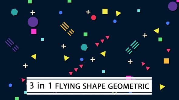 Flying Shape Geometric