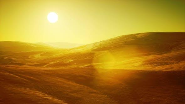 Thumbnail for Beautiful Sand Dunes in the Sahara Desert