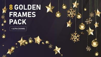 Celebration Golden Frame Pack