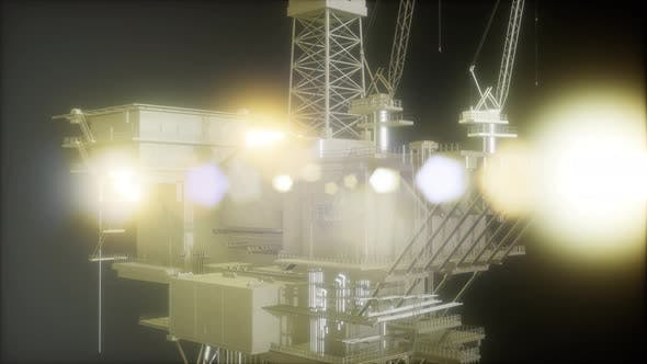 Thumbnail for Oil and Gas Platform