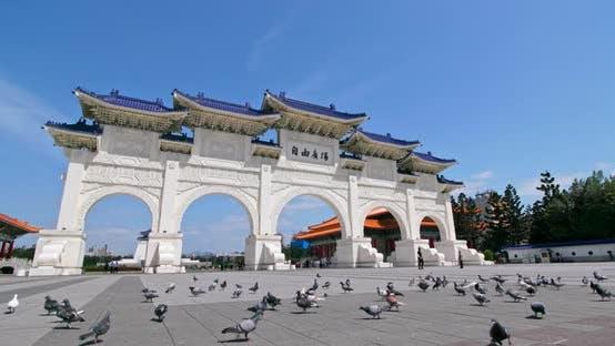 Thumbnail for Freedom Square Taipei and Chiang Kai-shek Memorial Hall