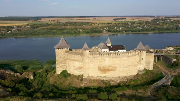 Thumbnail for Old Khotyn Castle Near the Dnester