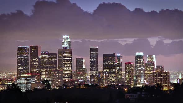 Thumbnail for Los Angeles Skyline Time Lapse