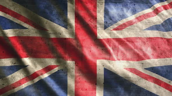 United Kingdom Flag Grunge