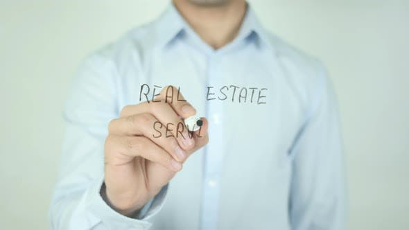 Thumbnail for Real Estate Services, Writing On Screen