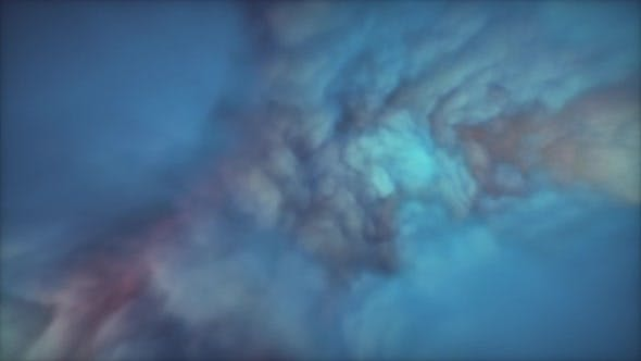 Thumbnail for Abstract pulsating hypnotizing wall of clouds