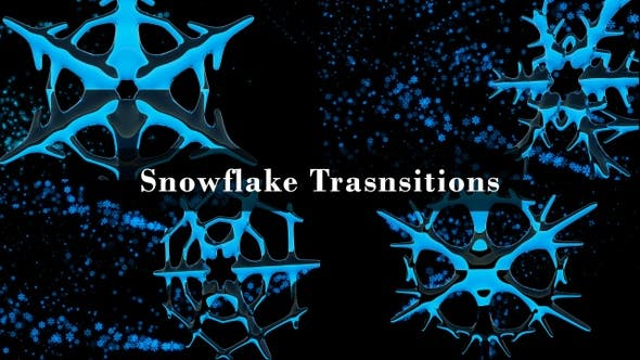 Thumbnail for Snowflake Transitions - 4 in 1