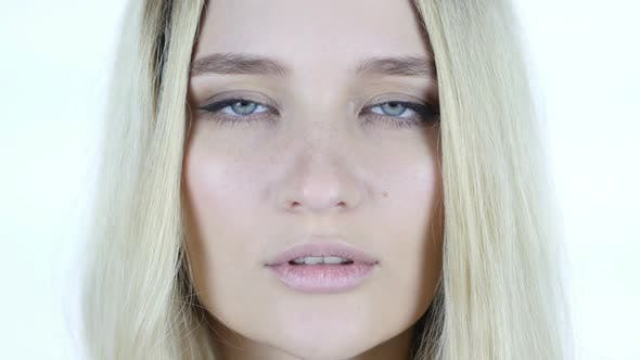 Thumbnail for Face, Kiss by Cute Beautiful Woman