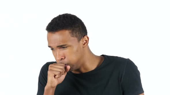 Thumbnail for Sick Black Man Coughing, Cough