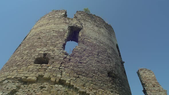 Thumbnail for Circular tower ruins