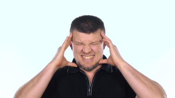 Thumbnail for Headache. White. Slow Motion