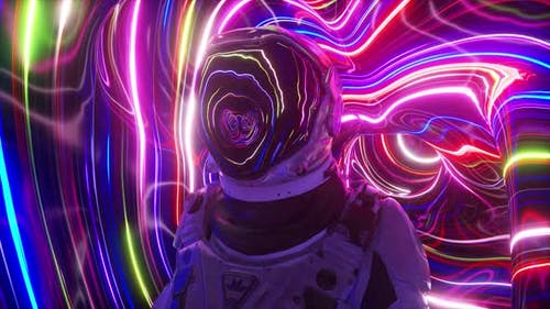 Astronaut in the Fourth Dimension