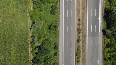 Timelapse Highway Traffic