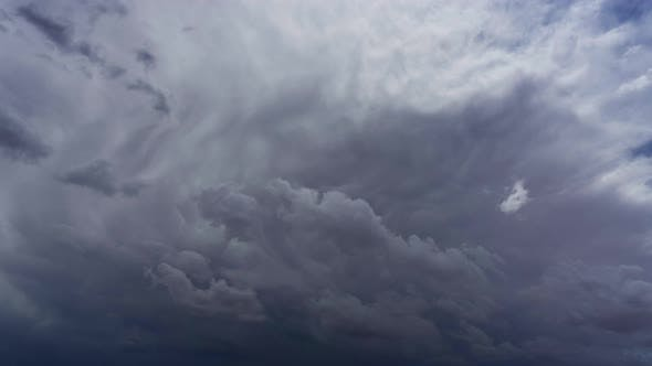 Thumbnail for Storm Clouds and Mammatus Clouds Timelapse