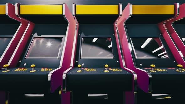 Thumbnail for Retro Arcade Game Machines #01 4k