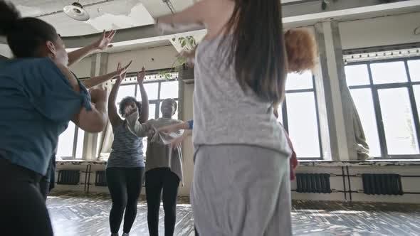 Thumbnail for Happy Women Rehearsing Dance