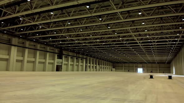 Cover Image for Empty Warehouse