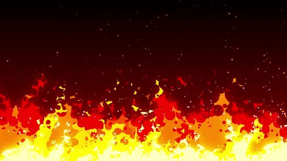 Thumbnail for 4K Fire Cartoon