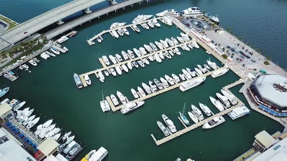 Thumbnail for Port with yachts and boats