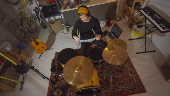 Thumbnail for Recording Percussion Solo In Studio