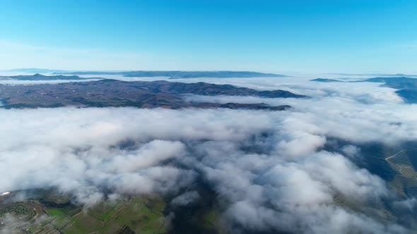 Thumbnail for Aerial View Above the Clouds