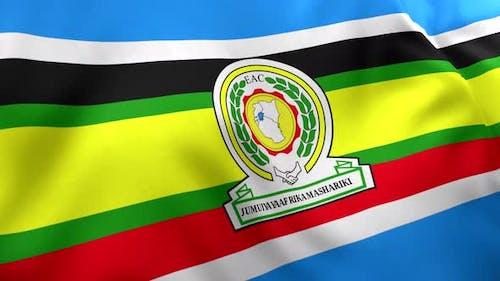 Drapeau de la Communauté de l'Afrique de l'Est