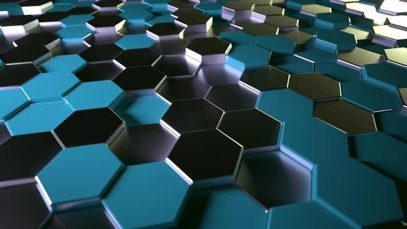 Hexagons Background 9 - 4K