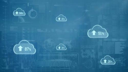 Uploading in the digital cloud
