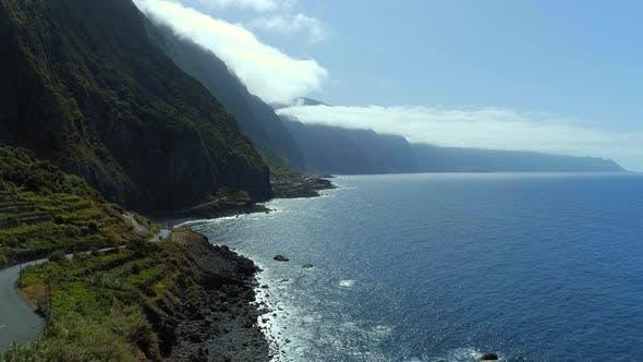 Mountainous Coastline of Madeira