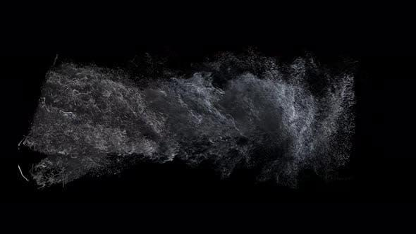Particle Tornado Rising