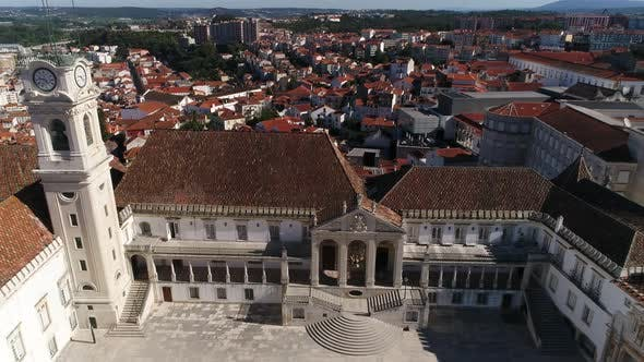Cover Image for Aerial. University of Coimbra, Portugal