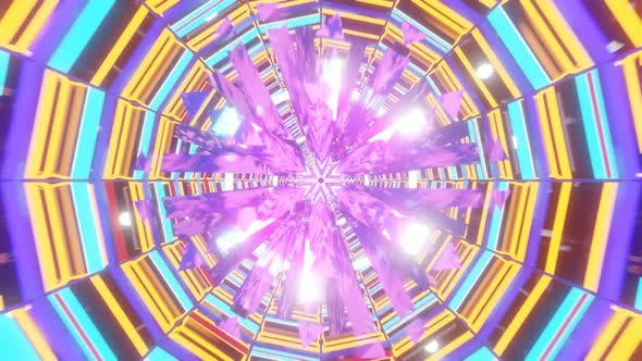 VJ Loop with Pulsating Shapes