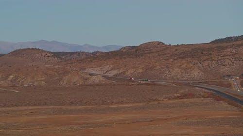 Östliche Sierra Nevada Landschaft