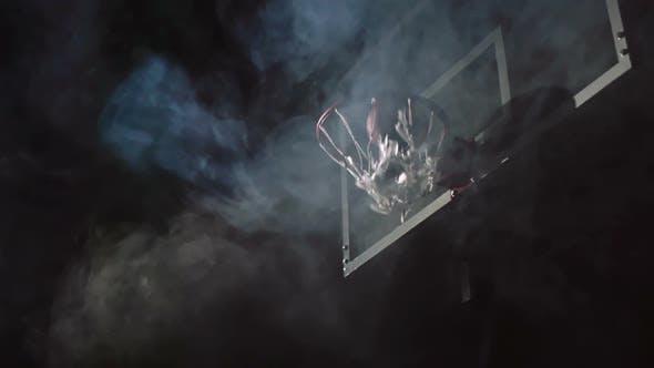 Thumbnail for Two Men Playing Basketball