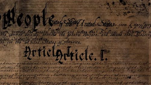 Written constitution of the United States