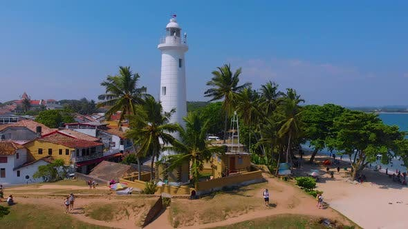 Thumbnail for Aerial View of Galle Fort in Srilanka