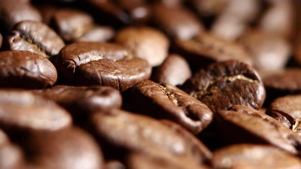 Thumbnail for Coffee Beans. Rotating. Close Up