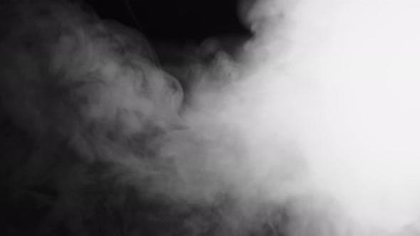 Atmospheric Smoke Haze Background Spooky Halloween