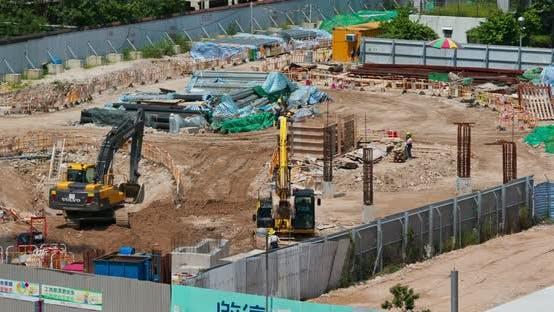 Thumbnail for Hong Kong construction site