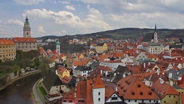 Thumbnail for Krumlov Town In Czech Republic