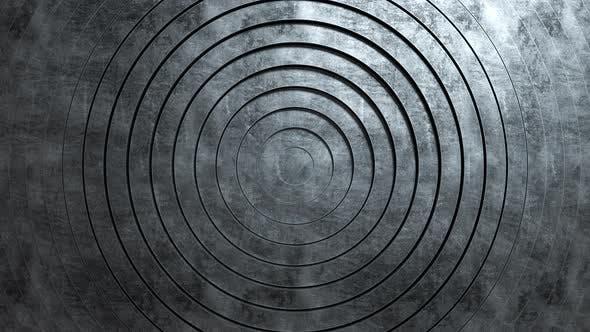 Abstract Pattern of Circles